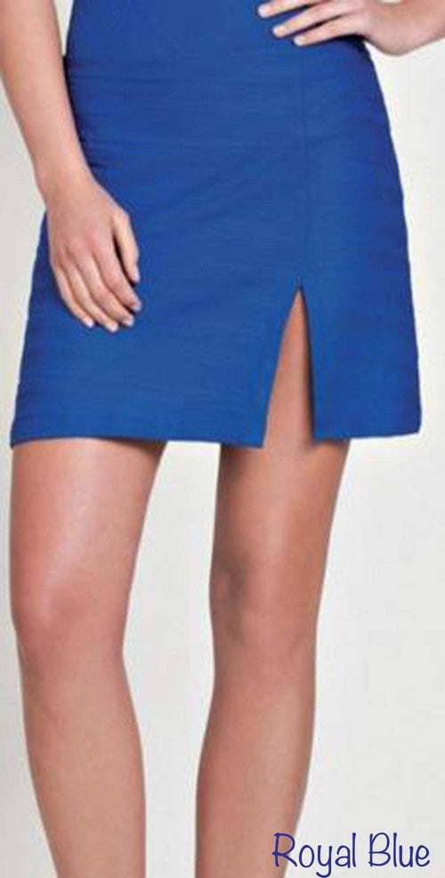 Gottex Mikado Architecture Skirt in Bondi Blue M01-454-435