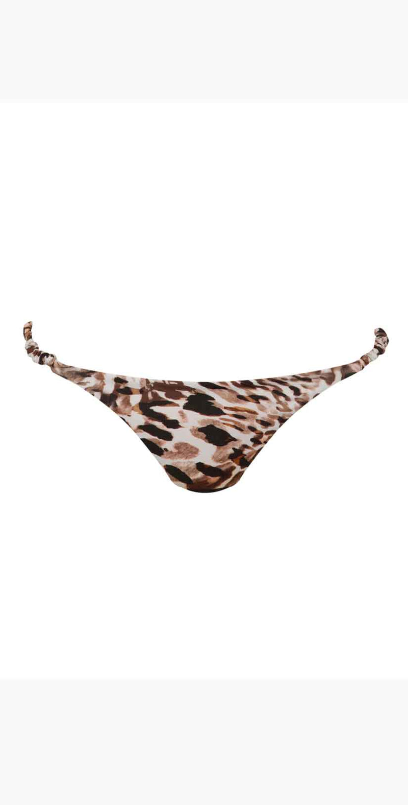 Ochie Swim Grace Bikini Bottom in Animal Sunset