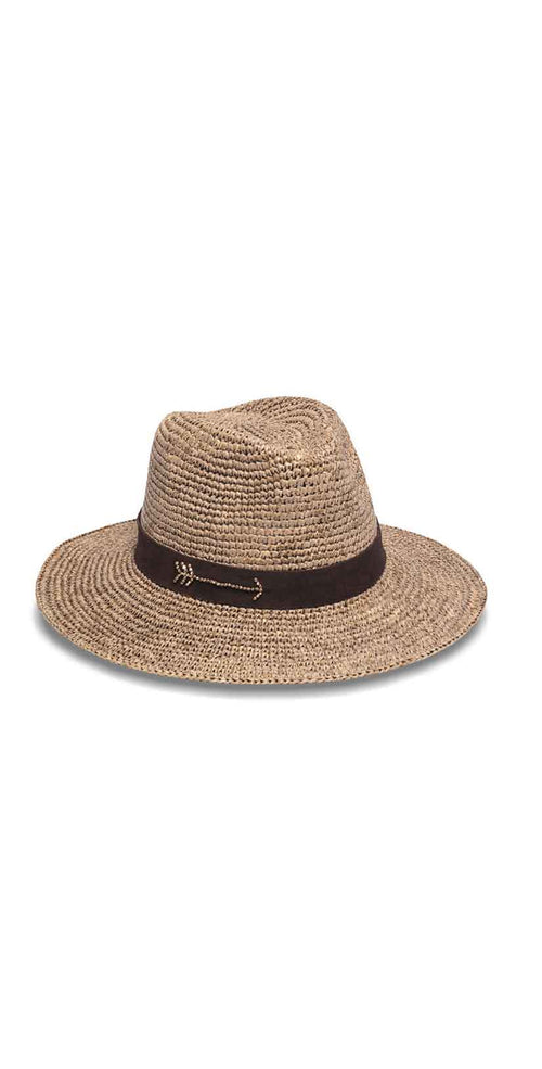 Nikki Beach Gypsy Soul Hat in Cocoa: