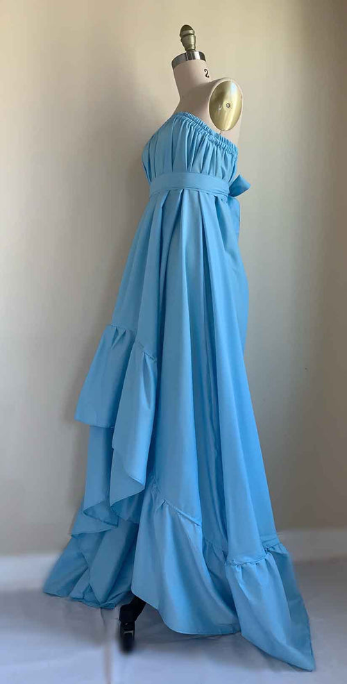 Camaroha Sutra Goddess Dress 10 Inch in Sky Blue side