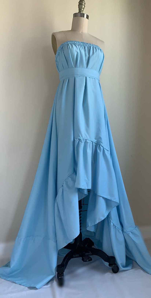 Camaroha Sutra Goddess Dress 10 Inch in Sky Blue front