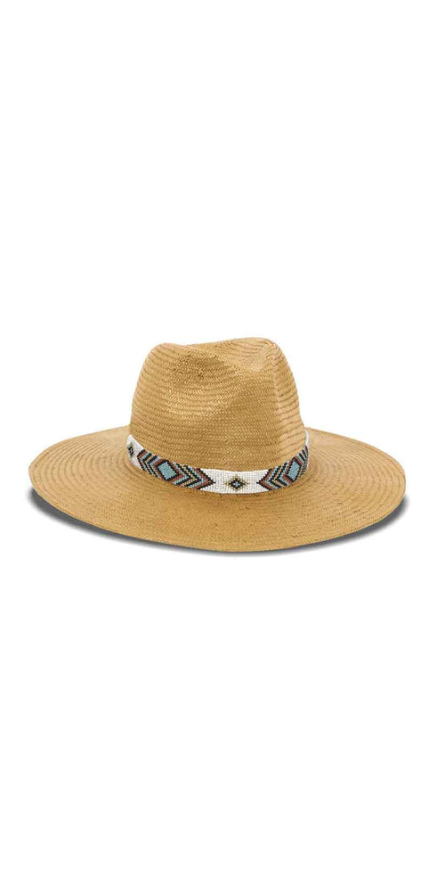 Nikki Beach Indio Hat in Tobacco: