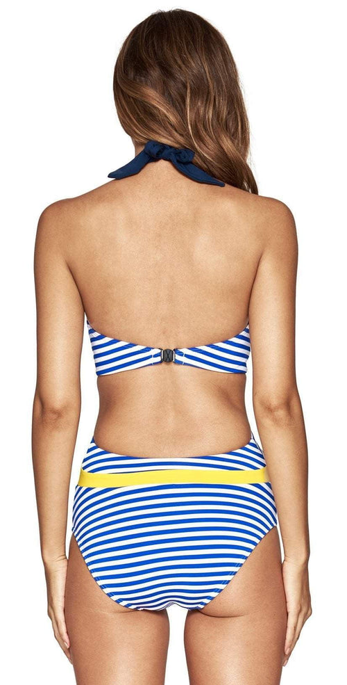 Jets Panama Plunge One Piece Back View