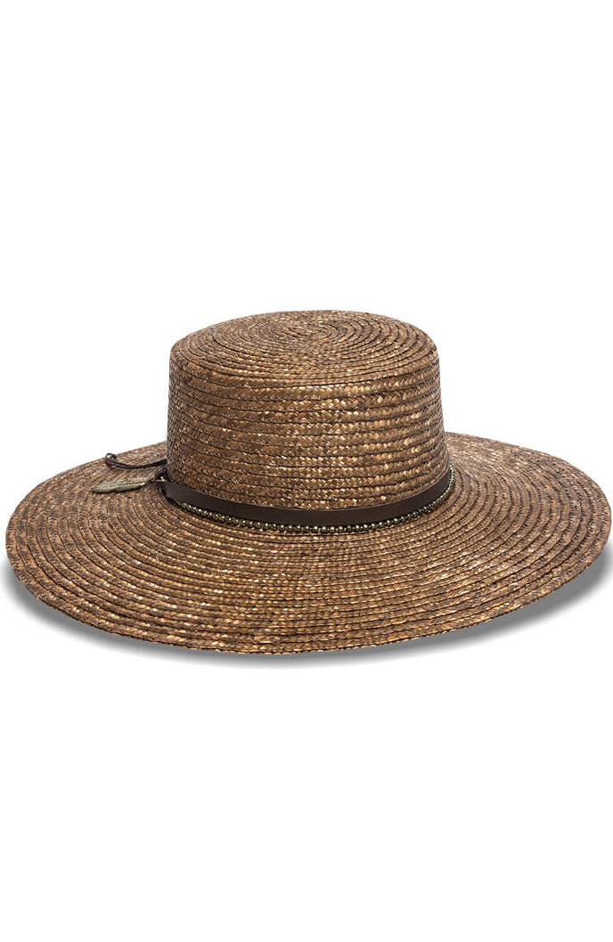 Nikki Beach Kos-Marbella Hat in Bronze