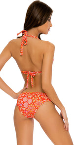 Luli Fama Calypso Full Bottom in Rojo