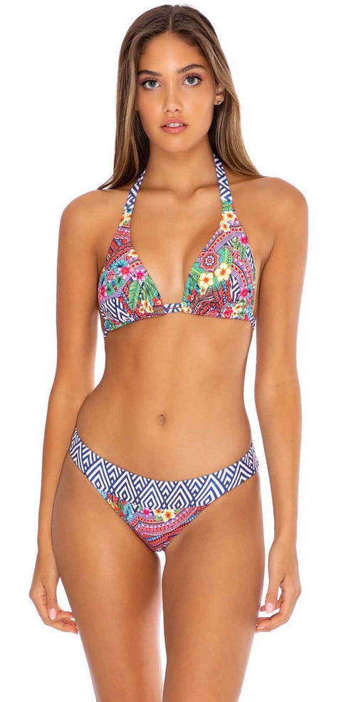 Luli Fama Luli Tribe Banded Full Bottom in Multicolor: