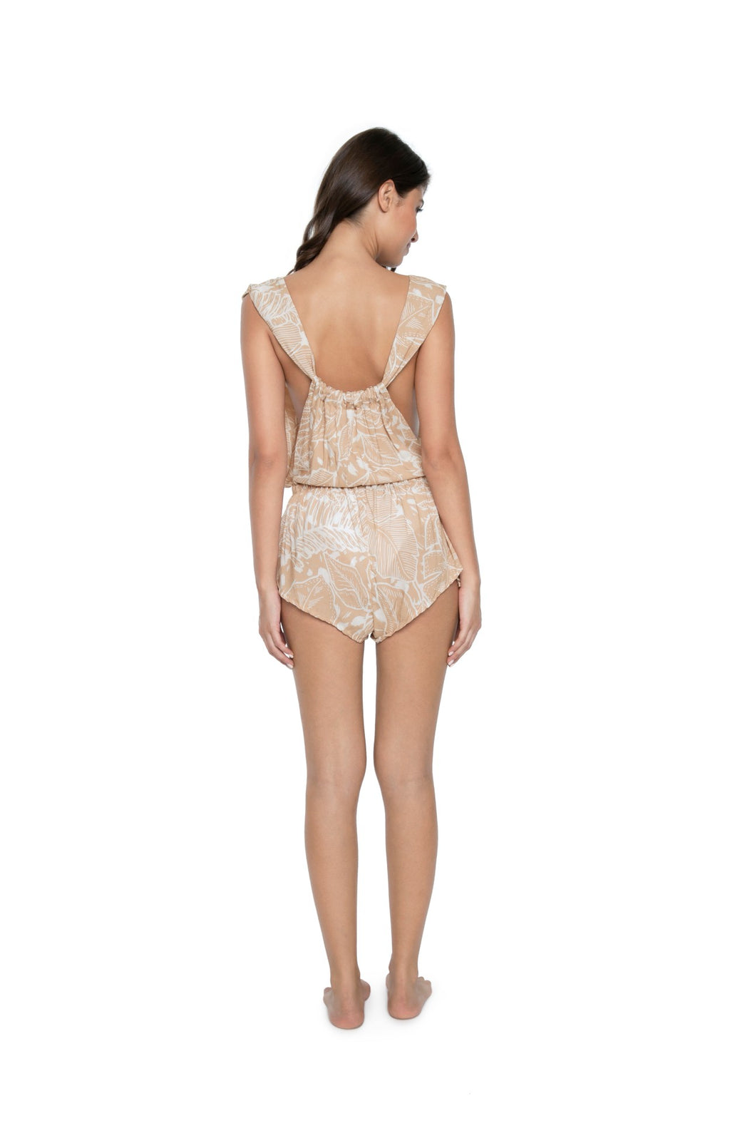 PQ Swim Laguna Palms Anne Marie Romper back