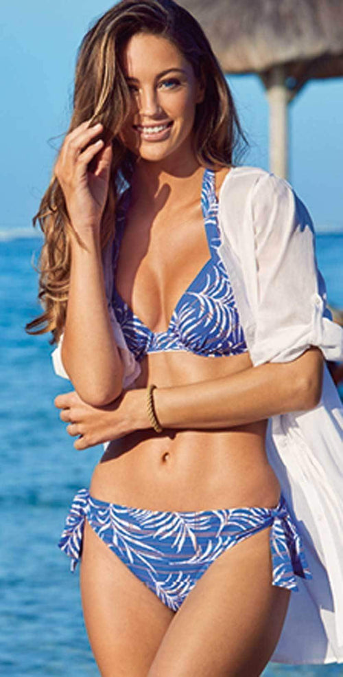 Lidea Martinique Blue Floral Bikini Set 5750-671-950: