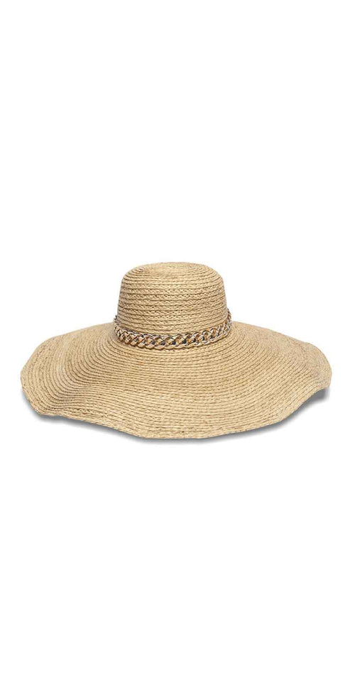 Nikki Beach Lucia Hat in Natural: