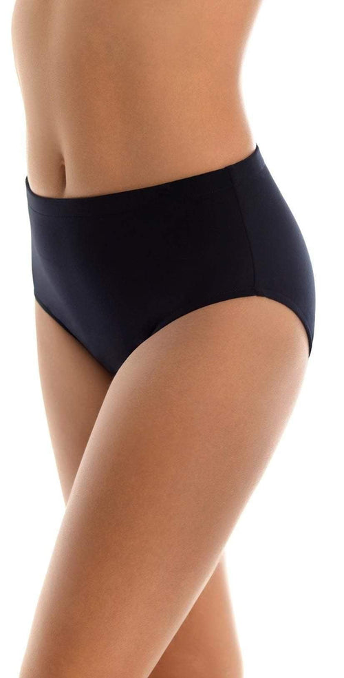 Magicsuit Jersey Classic Bottom in Black 453638-BLK Side View