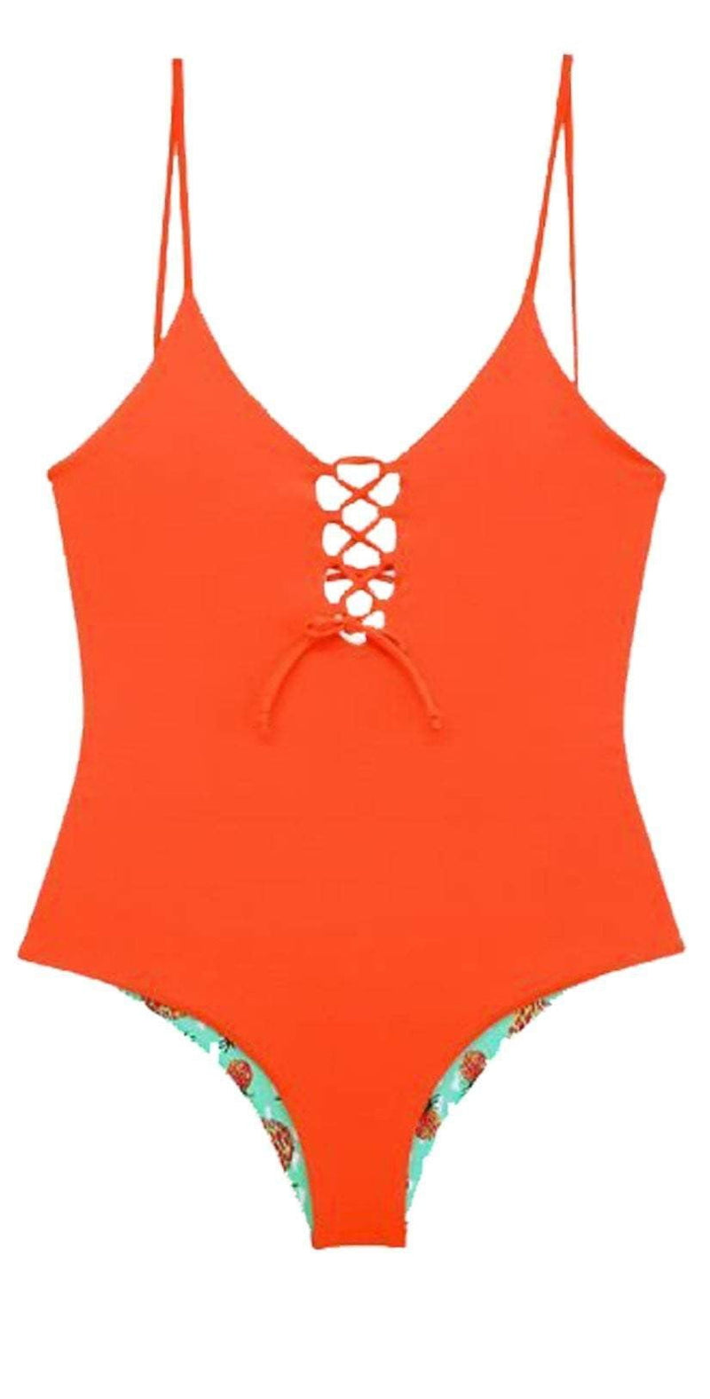 Maylana Kamila Grapefruit One Piece MA17-E01-PGR: