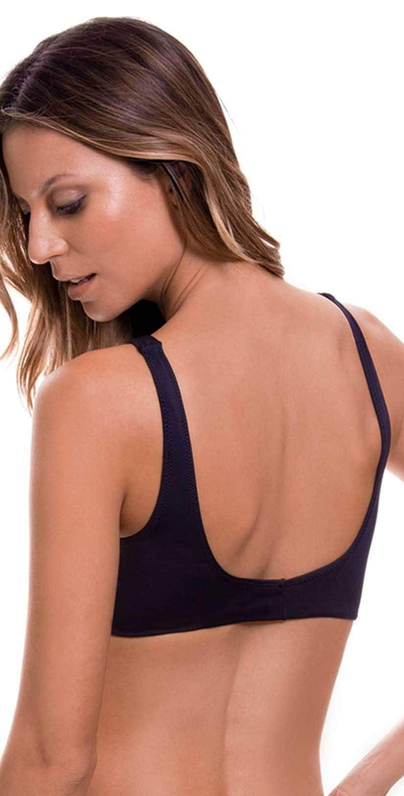 Milonga Removable Knot Top in Basic Black 072: