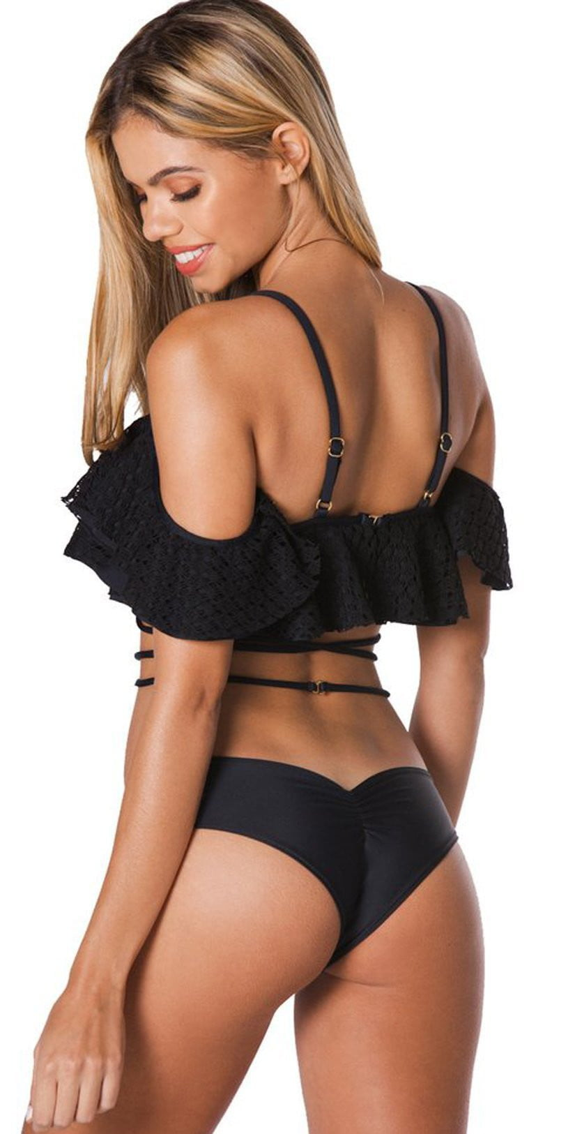 Montce Palmilla La Caletta Top in Black: