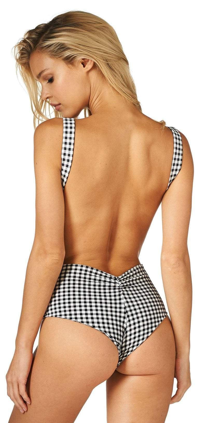 Montce Bea One Piece in Gingham: