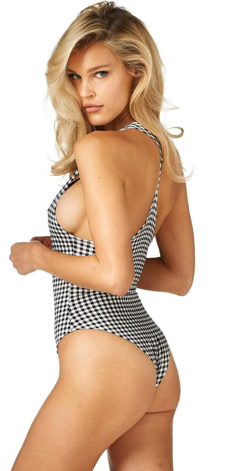 Montce One Piece in Gingham