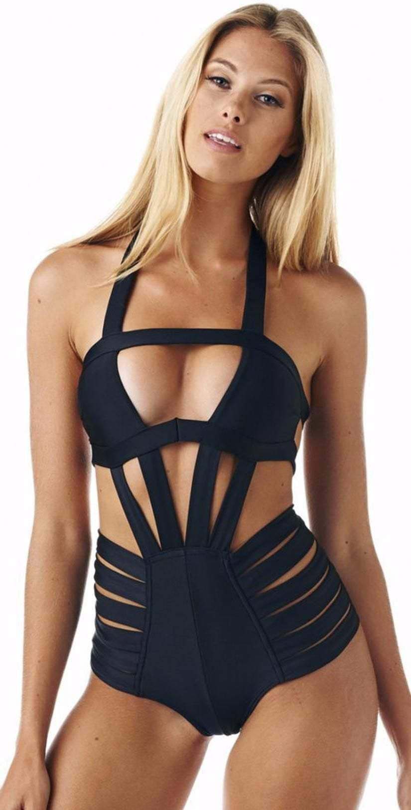 Montce Dunes Monokini in Black: