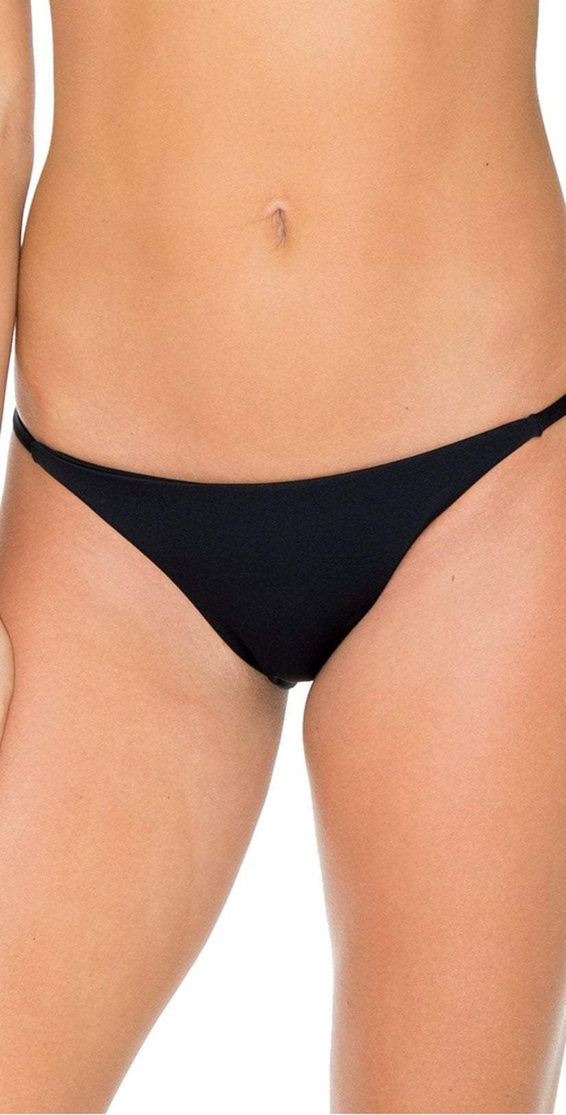 Aerin Rose Obsidian Mercury Bottom In Black B490-OBSI: