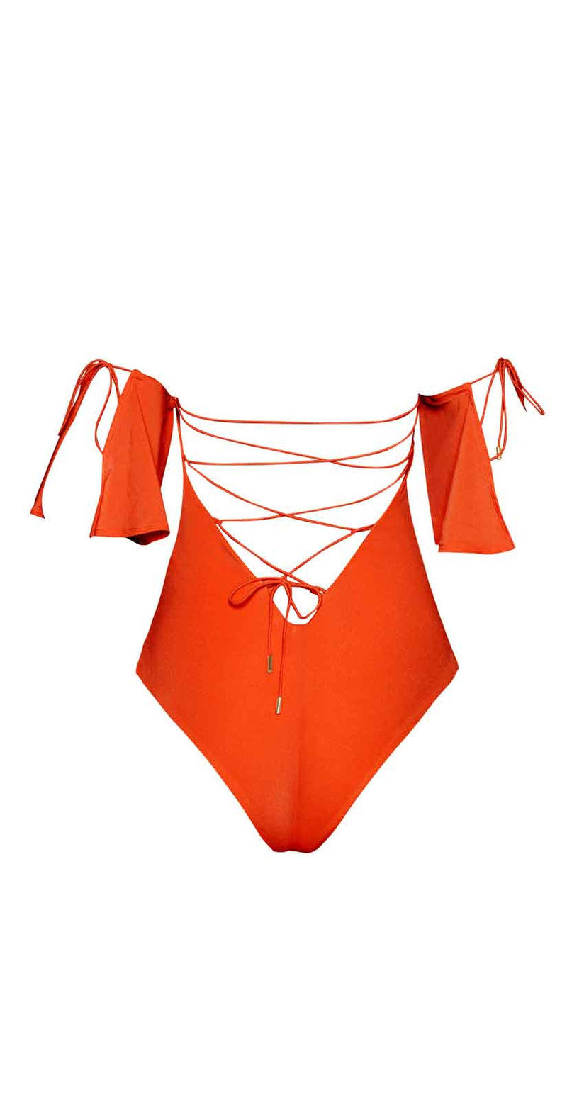 Ochie Swim Olivia One Piece in Sunset
