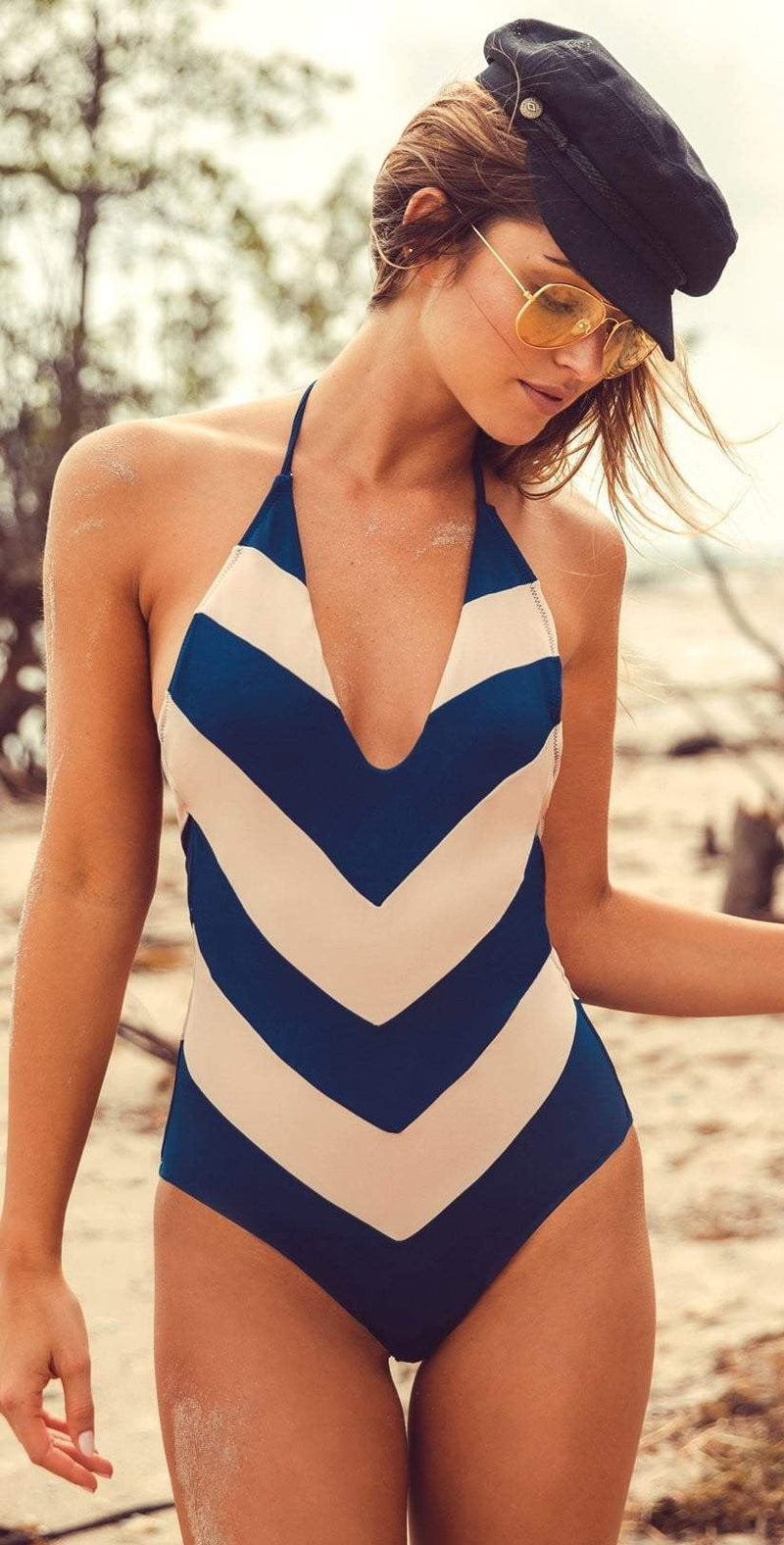 Peixoto Tortola One Piece Swimsuit in Royal Tan 31802L-RYTN: