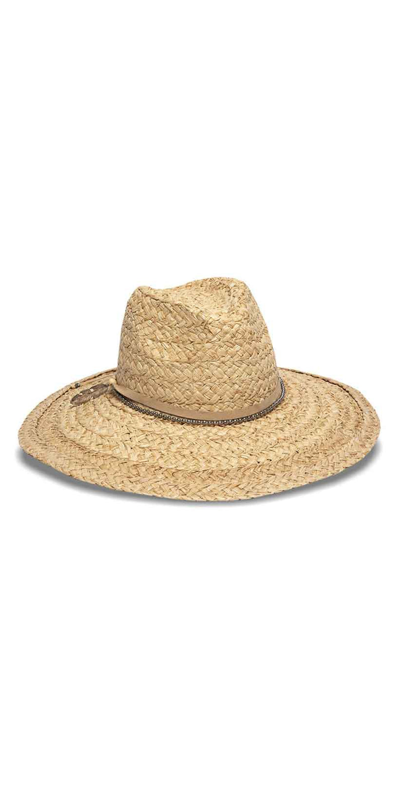 Nikki Beach Perie Hat in Natural: