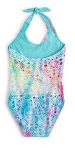 PilyQ Girls Rainbow Lace One Piece RAL-610P: