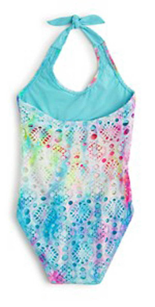 Pilyq Girls Rainbow Lace One Piece RAL-610P back studio
