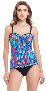 Profile by Gottex Serendipity Tankini Top E836-1D18-080: