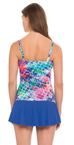 Profile by Gottex Song Bird Underwire Tankini Top E851-1D18/E851-1E18-080: