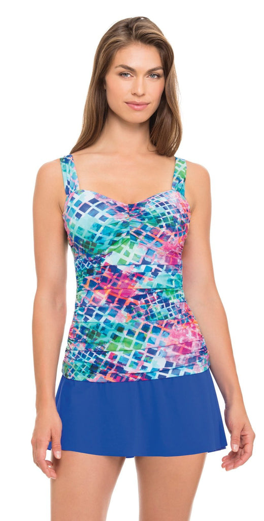 Profile by Gottex Song Bird D cup tankini top