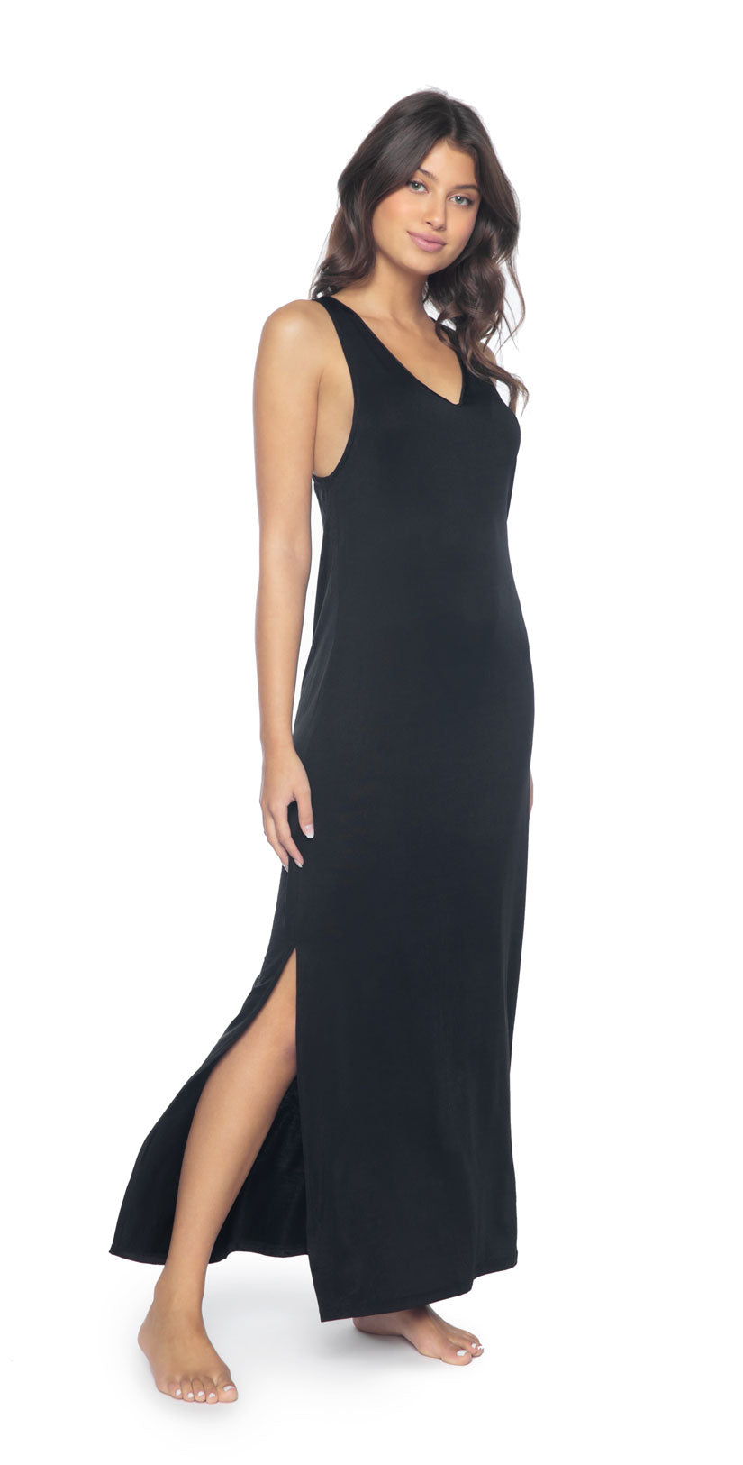 PilyQ Midnight Robin Dress front