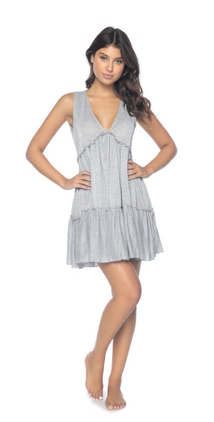 PilyQ Silver Callie Dress front