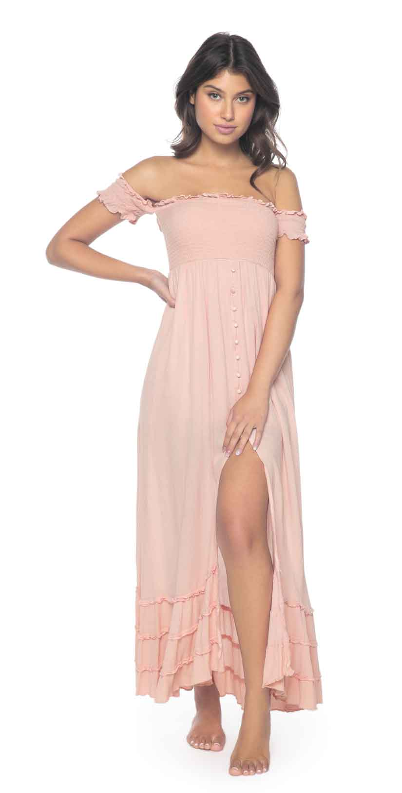 PilyQ Pink Sand Mishell Dress: