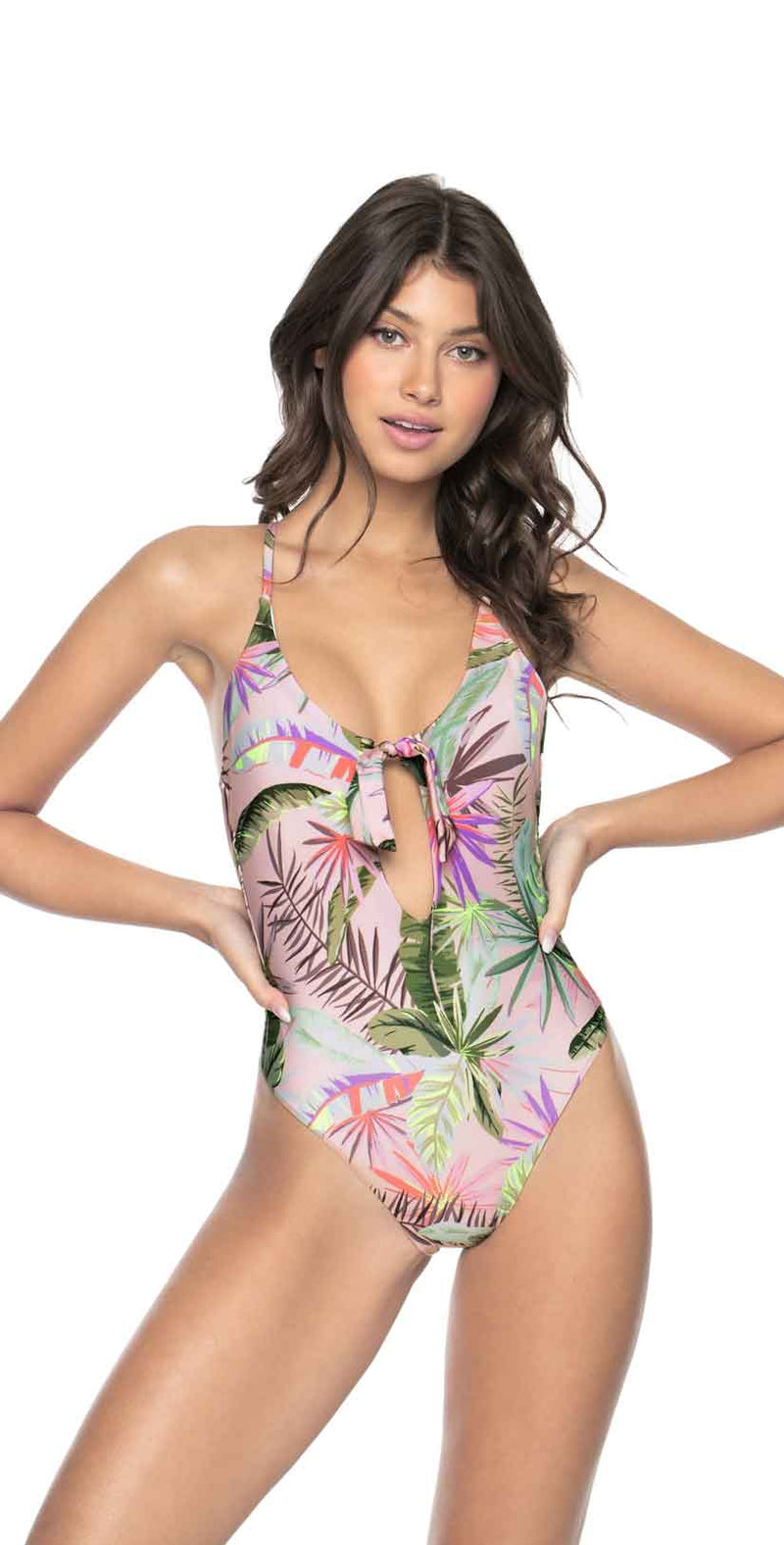 PilyQ Bahamas Arielle One Piece front