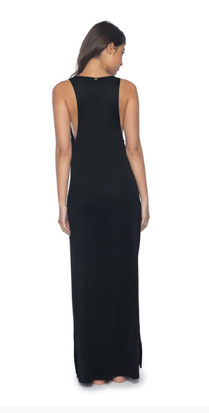 PilyQ Midnight Robin Dress back