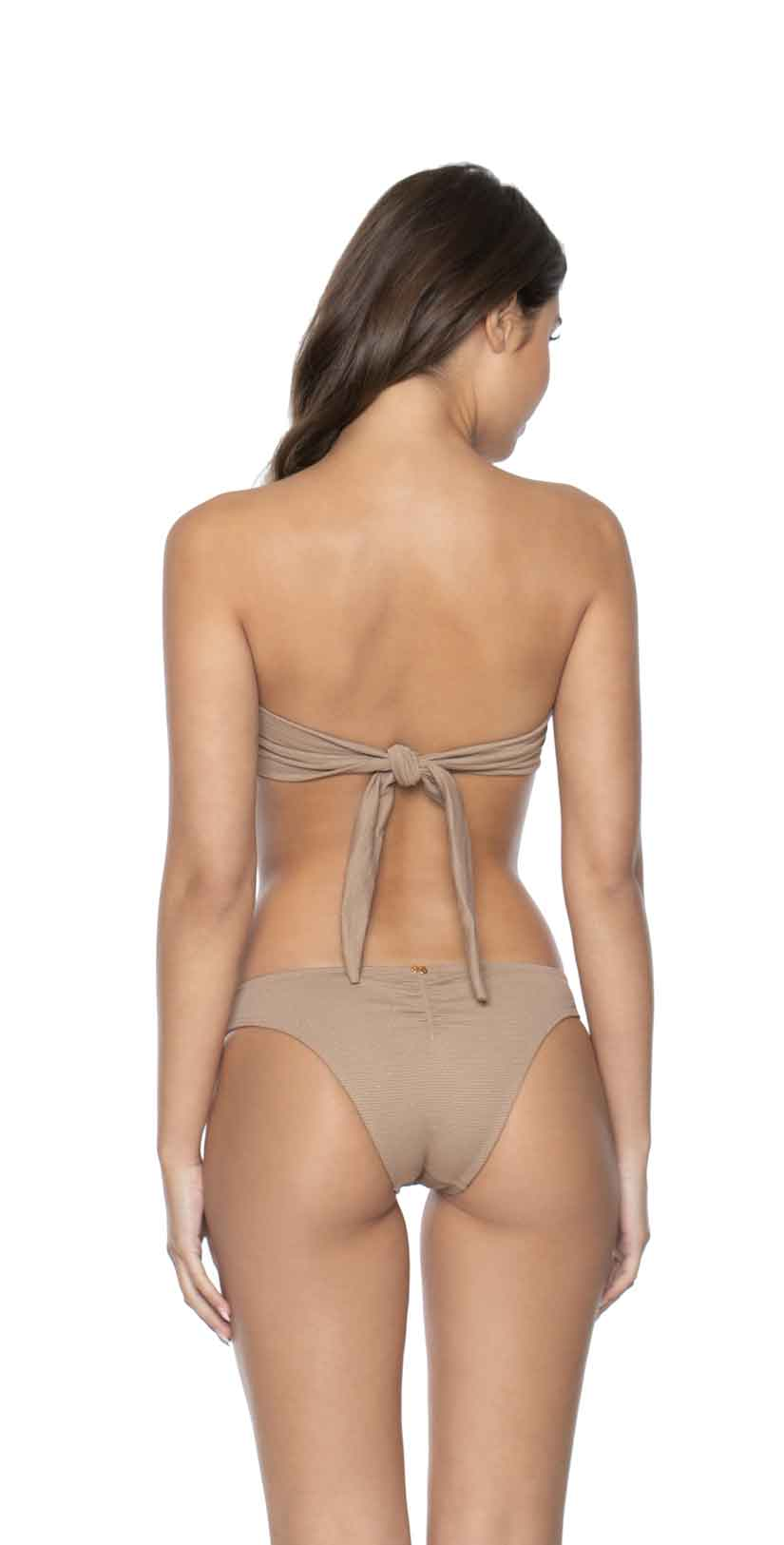 PilyQ Bimiri Basic Teeny Coverage Bikini Bottom back