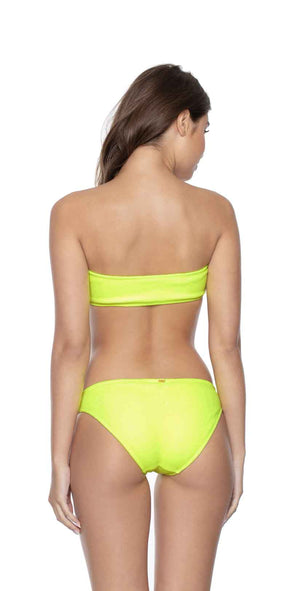 PilyQ Pineapple Reef Full Bikini Bottom back