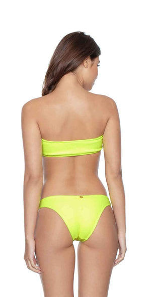 PilyQ Pineapple Reef Teeny Bikini Bottom  back