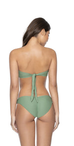 PilyQ Sage Basic Ruched Bottoms In Full Cut