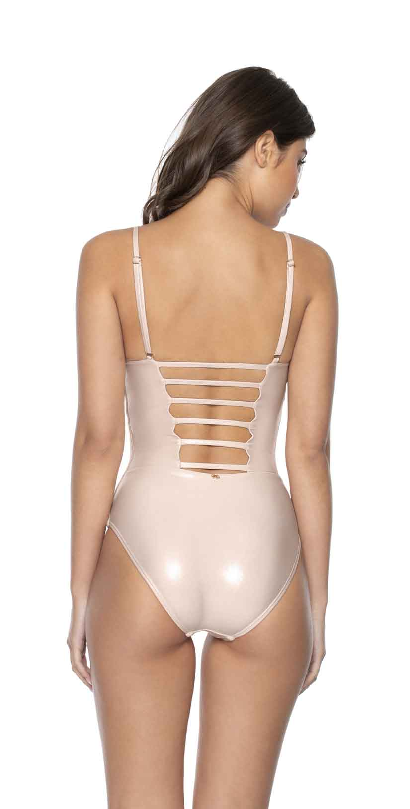 PilyQ Seashell Charlee One Piece back
