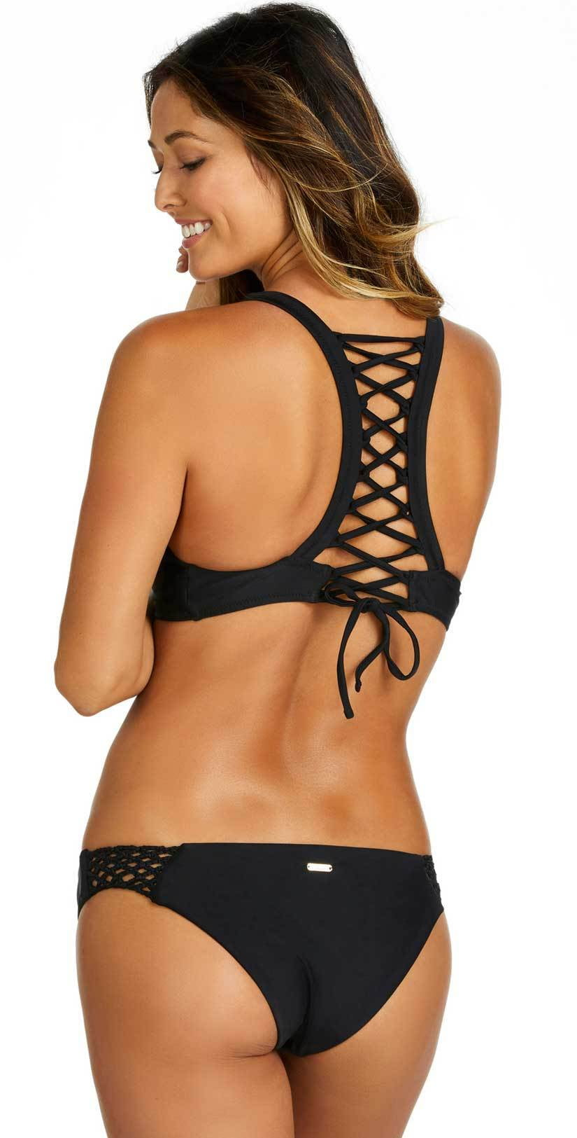 Raisins Sayulita Mai Tai Bottom in Black Y710052M-BLK: