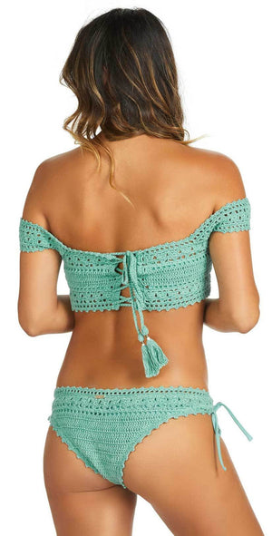 Raisins Crochet Paris Top Y710408-OLIV: