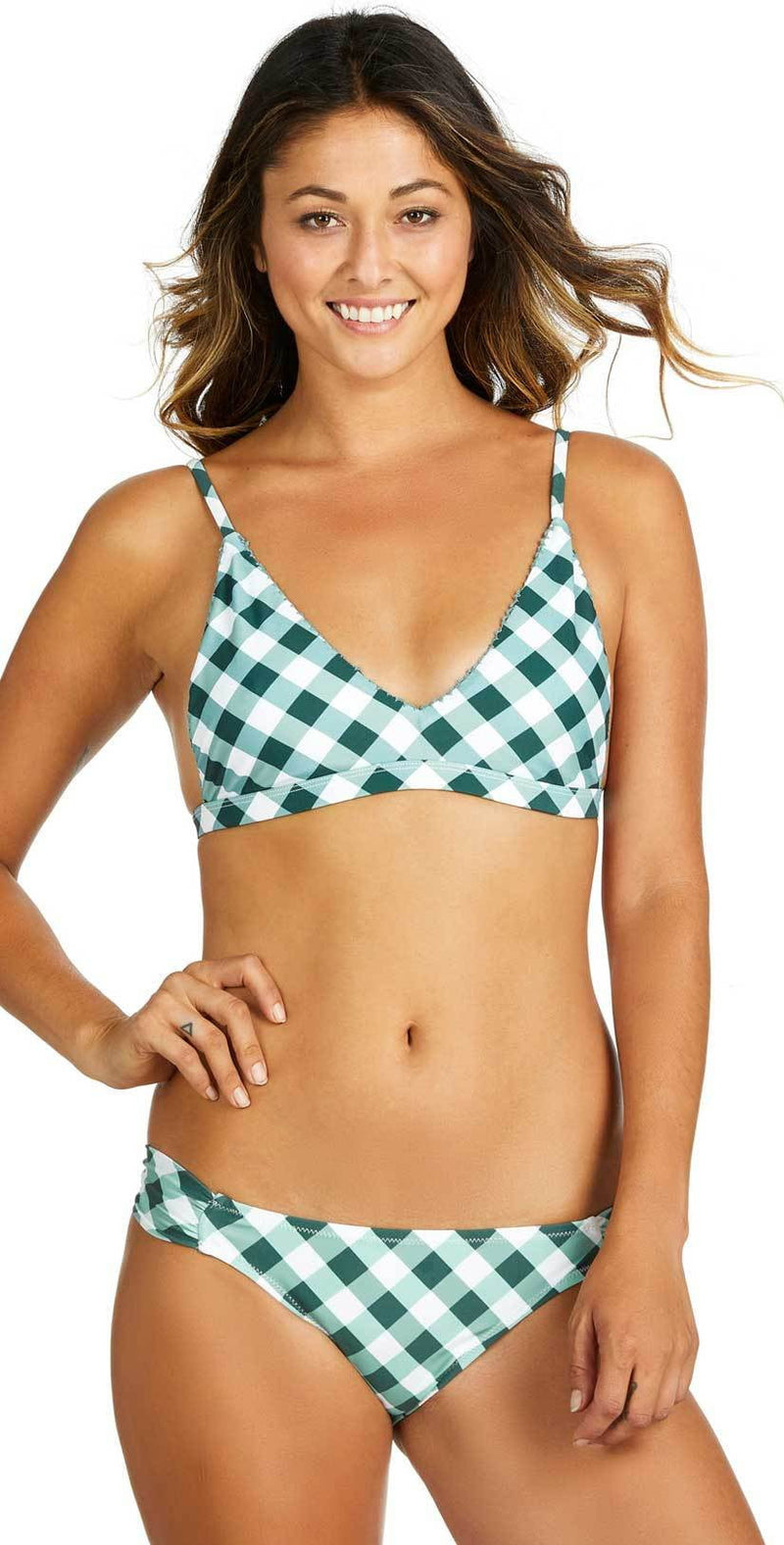 Raisins Chasing Waterfalls Boy Short Bikini Bottom Y710855-OLIV: