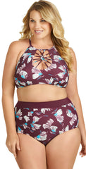 Raisins Curve Cala High Neck Top Y840926: