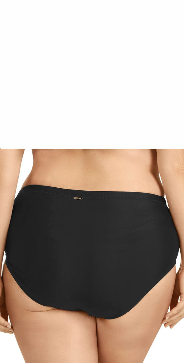 Raisins Curve Shoreline Bottom in Black Y840062-BLK
