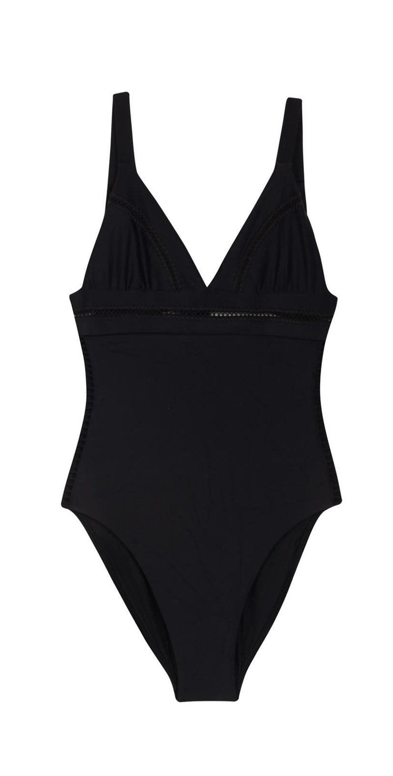 Details about  /Pilyq New With Tags Ellie One Piece Swimsuit Black