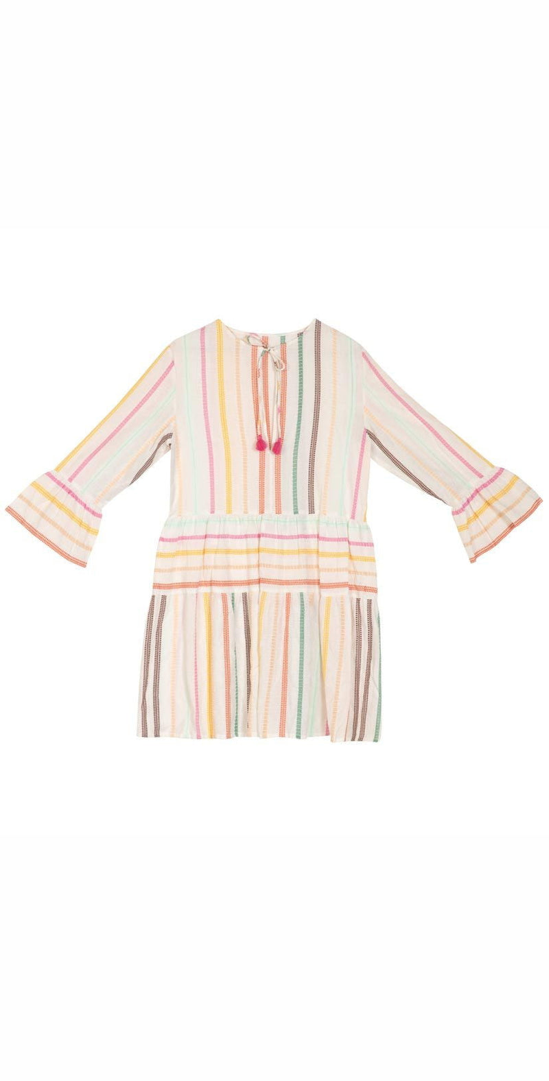 PilyQ Multistripe Morgan Dress MLT-018D:
