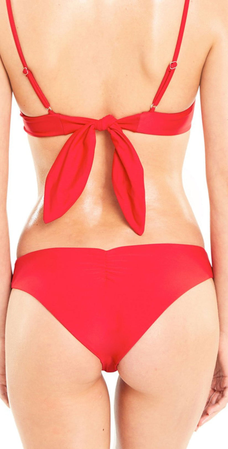Wildfox Isabelle Bikini Bottom In Red: