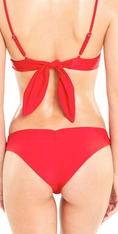 Wildfox Isabelle Bikini Bottom In Red S18-014