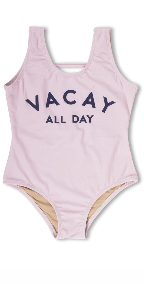 Shade Critters Vacay All Day One Piece Swimsuit in Pink SG01A-042: