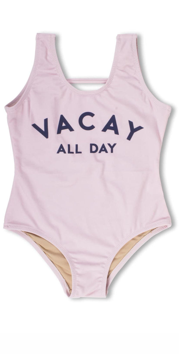 Shade Critters Vacay All Day One Piece Swimsuit in Pink SG01A-042